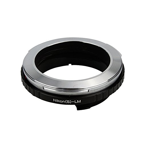 Lens Adapter Suit for Nikon Microscope S/Contax RF Lens to Leica M Camera M10-D M10-P M10 Typ 262 Type 240 Monochrom Typ 246 Edition 60 M 220 M9-P M9 M8.2 M9 M7 M6 M5 M4 M3