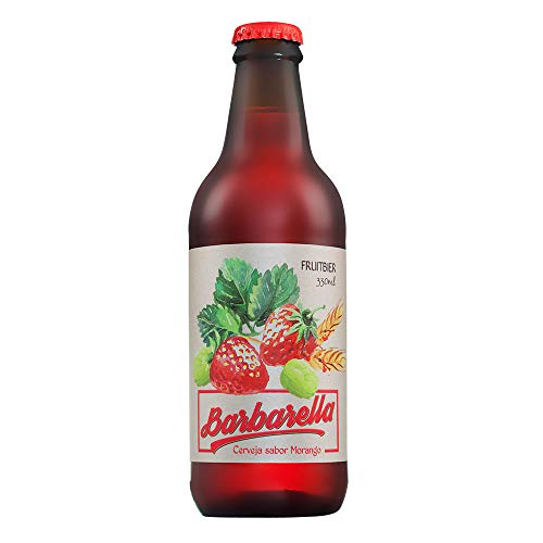Cerveja Barbarella Fruitbier Morango 355ml Barbarella European Lager 355ml