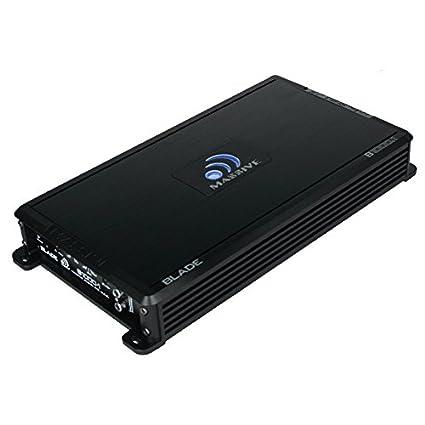 Massive Audio B1000.1 - Car Audio 1,000 Watt Blade Series, Monoblock Car Amplifier