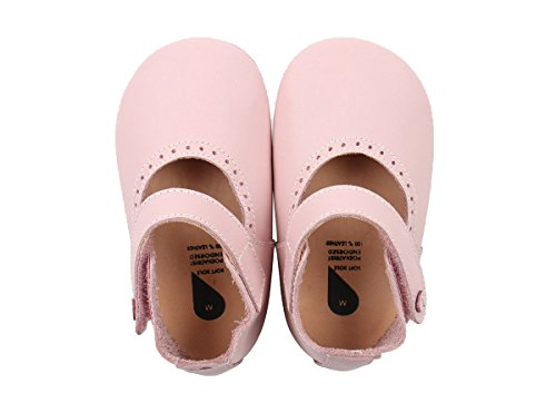Bobux-Chaussons en cuir Soft soles rose clair Mary Jane (15-21 mois) - Rose clair