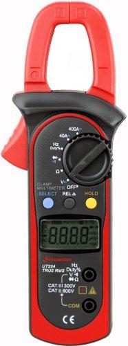 Uni-T UT204 Auto-Ranging AC DC Ture RMS Auto/Manual Range Digital Handheld Clamp Meter Multimeter Test Tool