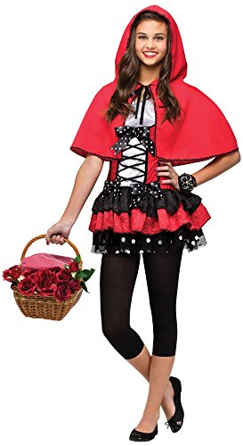 Fun World Costumes Women's Sweet Red Hood Teen Costume, Red, One Size for $<!--$31.64-->