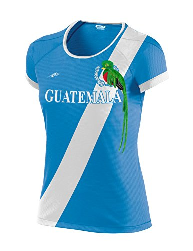 Guatemala Women Soccer Jersey Exclusive Design (Medium, Blue)