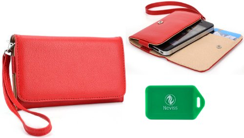 ladies-red-multi-purpose-smart-phone-case-plus-removable-wristlet-strap-for-nokia-lumia-521