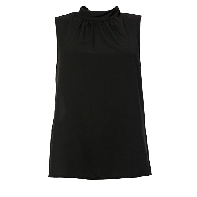 Slvless French DonnaNero Crepe TopBlusa Connection Light Jrsy rCodQxBeW