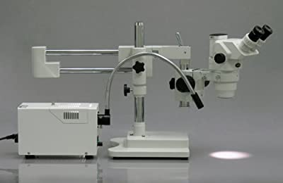 AmScope FB-SL Fiber Optic Single Gooseneck Attachment for Illuminator