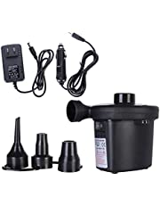 Galapara Electric Air Pump,Electric Air Pump Quick Fill Inflator with 3 in 1 Nozzles Portable Deflator Pump for Inflatables Outdoor Camping