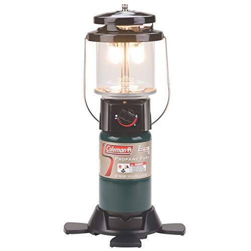 Coleman Propane Lantern | Deluxe Perfect Flow Gas Lantern for Camping and Outdoor Use (Renewed)