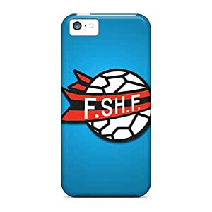 Tpu Case For Iphone 5c With Albania Football Logo