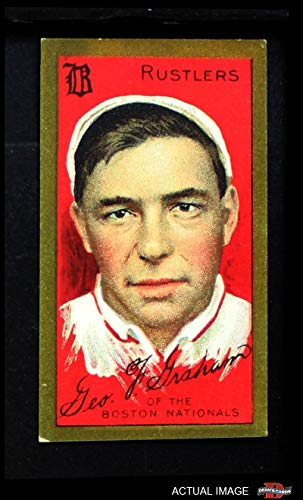 Boston Peach - 1911 T205 RUS Peaches Graham Boston Rustlers (Braves) (Baseball Card) (Team is Rustlers) Dean's Cards 4 - VG/EX Rustlers (Braves)