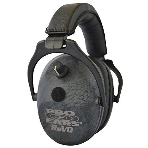 Pro Ears - ReVO - Electronic Hearing Protection and Amplification - NRR 25 - Youth and Women Ear Muffs  - Typhon by Pro Ears