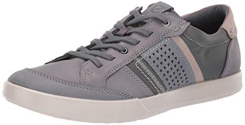 - ECCO Men's Collin 2.0 Casual Tie Sneaker Nubuck/Titanium, 44 M EU (10-10.5 US)