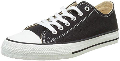 - Victoria Unisex Adults' Zapato Basket Autoclave Trainers, Black (Negro 10), 8.5 UK
