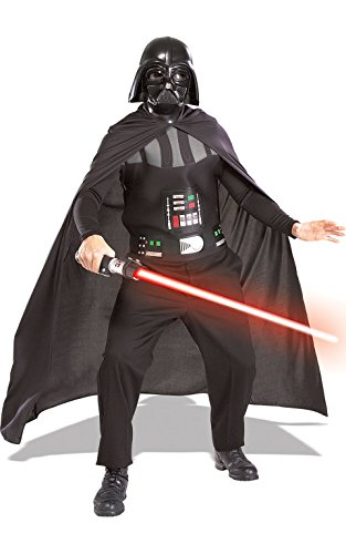 Adults Men's Ladies Darth Vader Star Wars Film Movie Kit Super Halloween Hero Villain Fancy Dress Costume Outfit ()