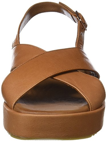 Femme Inuovo Ouvert 12058623 Sandales Coconut Bout Beige 9004 FIrFtwq8