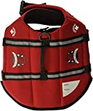 Paws Aboard Red Neoprene Life Jacket, Dog or Cat Life Preserver (Medium 20-50 Lbs) Review
