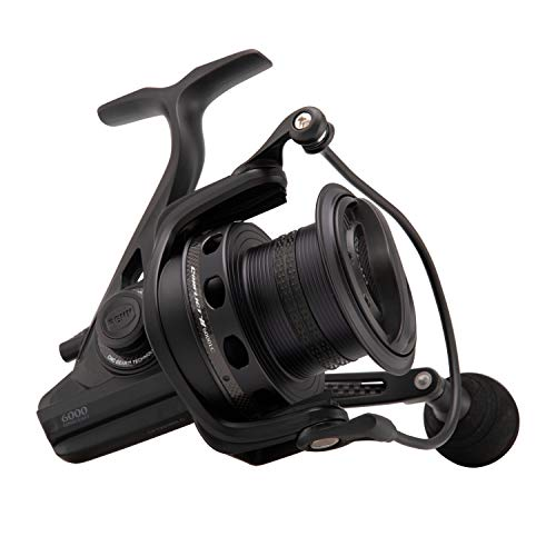 Penn Conflict II Long Cast Spinning Reel, Black, 7000