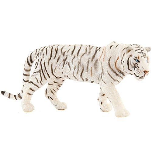 (Papo White Tiger Figure, Multicolor)