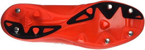 adidas X 16.3 Sg Leather, Botas de Fútbol para Hombre Rojo (Rojsol / Plamet / Roalre)