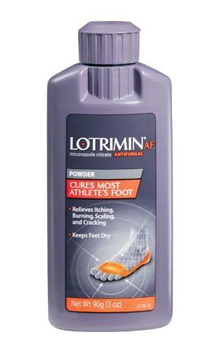 Lotrimin antifongique Poudre pour le pied d'athlète, 3-Ounce Bottles (Pack de 3)