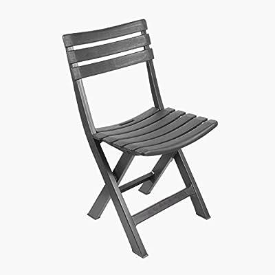 LIFEDECO Chaise Pliante Fauteuil Design en Plastique Pliant ...