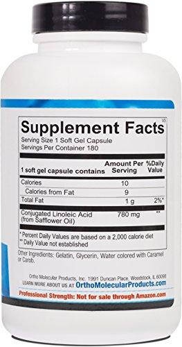 Ortho Molecular - Evening Primrose Oil - 1300 mg - 180 Soft Gel Capsules by Ortho Molecular (Image #1)