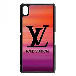 Sony Xperia Z2 Louis With Vuitton Trendy Phone Case,Louis With Vuitton Pattern Luxury Logo Back Cover For Sony Xperia Z2
