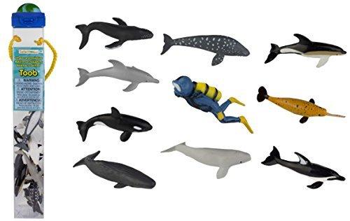 Safari Ltd Dolphins and Whales TOOB by Safari Ltd.