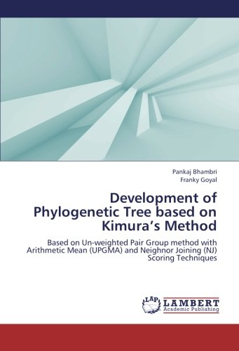 (Development of Phylogenetic Tree based on Kimura's Method: Based on Un-weighted Pair Group method with Arithmetic Mean (UPGMA) and Neighnor Joining (NJ) Scoring Techniques)