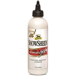 Absorbine Showsheen Detangler Gel Squeeze Bottle, 4 fl oz