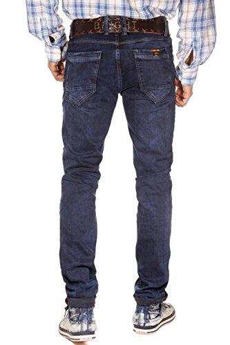 BRIGHT FASHION Stretchjeans regular fit (dunkelblau)