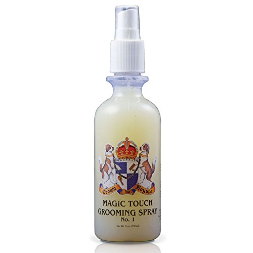 Crown Royale 0001500 RTU No.1 Magic Touch Pet Grooming Spray, 8 oz