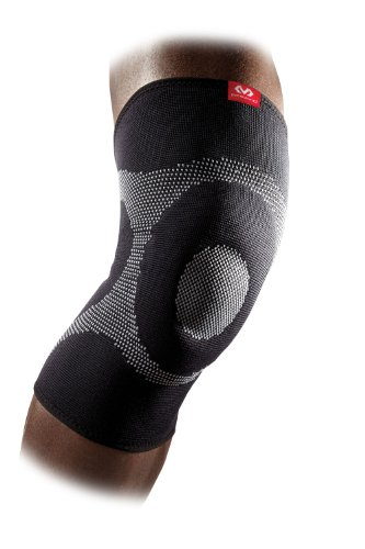 Mcdavid Hexpad Knee Pad - McDavid Gel Knee Brace Sleeve. Elastic Compression Sleeve for Pain, Recovery, Injury. Increases Blood Flow and Stability of the Patella. Left or Right Leg. Arthritis, Bursitis, Tendonitis etc.