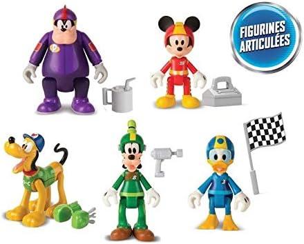 IMC Toys - Mickey and Roadster Racers 182950. Pack de 5 Figuras.: Amazon.es: Juguetes y juegos