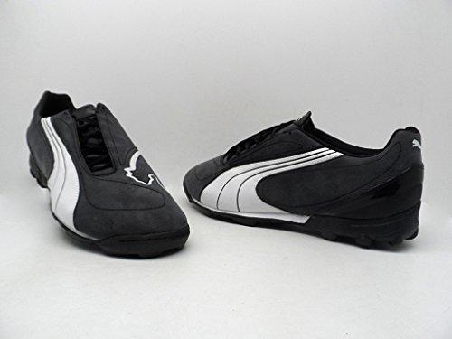 PUMA V5.08 Big Cat TT Black Cleats Shoes Mens 13