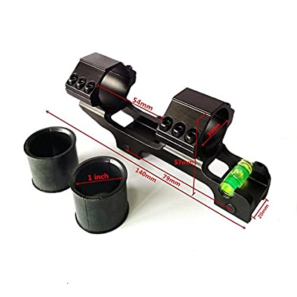 Amazon.com : HWZ 30mm Cantilever rifleScope Anti Cant Device ...