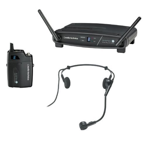 Audio-Technica System 10 ATW-1101/H Wireless Headworn Microphone System (Diversity Microphone Headworn Wireless)