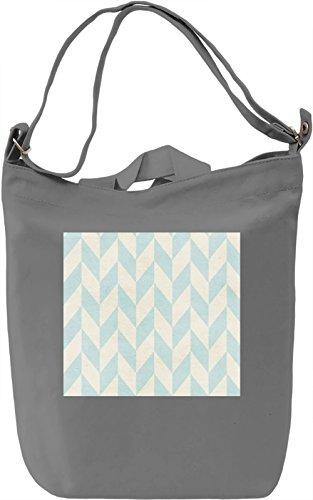 Watercolor Triangle Pattern Borsa Giornaliera Canvas Canvas Day Bag| 100% Premium Cotton Canvas| DTG Printing|