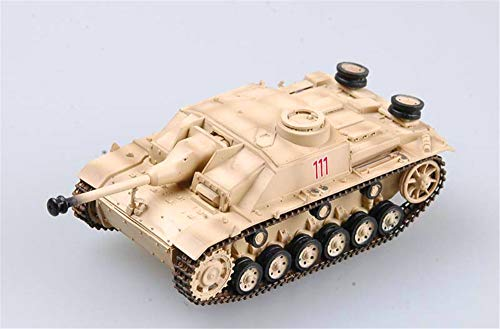 (Easy Model WWII Stug III Ausf. G Rome 1944 1:72 Assault Gun Tank Finished)