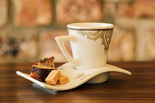 Original Handmade Coffee/Tea Wave Mug+ coaster plate