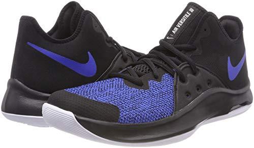 Baloncesto Nike Adulto Versitile Unisex Negro De white Zapatos Royal game Iii black 004 Air ZqnRWxr6qX