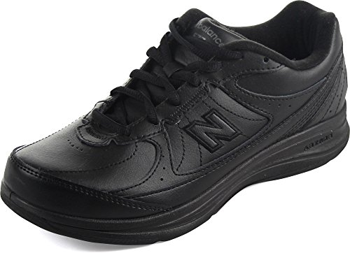 New Balance Women's WW577 Walking Shoe, Black, 7 2E US