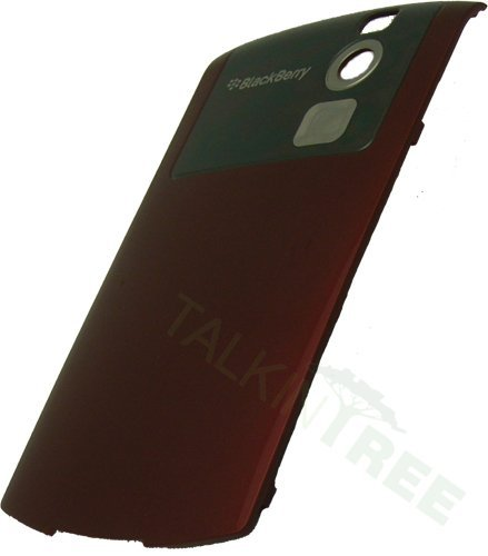 Blackberry Curve Red Battery Door Back ()