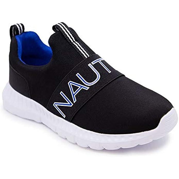 Nautica Kids Youth Athletic Fashion Sneaker Running Shoe -Slip On-  Boy - Girl Little Kid/Big Kid