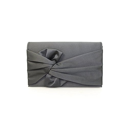 Black Bag Clutch in Black Design or Lunar Womens Harlow Beige Knot IHvqX