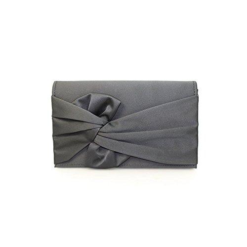 Bag Harlow or Beige Womens in Design Clutch Knot Black Black Lunar WFSpZ6qn