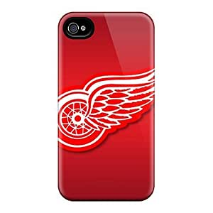 Cute High Quality Case For Samsung Galaxy S5 Cover Detroit Red Wings Cases