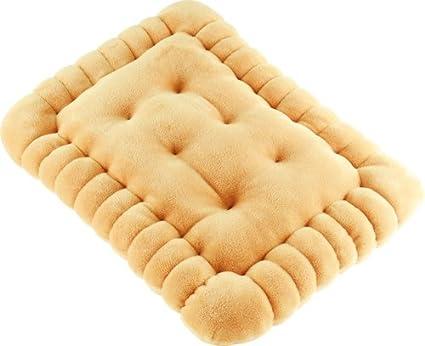 """Unitedlabels 0116704 Kissen """"Butterkeks"""", circa 40 x 30 cm"""