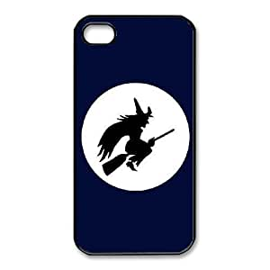 iphone4 4s Black phone case Halloween Witch The best gift DVE3552188