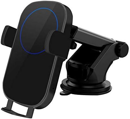 Qi Fast車のワイヤレス充電器10W自動クランピングカーフォンチャージャーマウントホルダー互換性のあるiPhone Xs Max 8 Plus Samsung Galaxy S10 + S9+